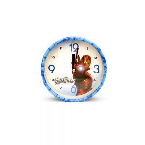 Table Clock Iron Man Design ( Medium )