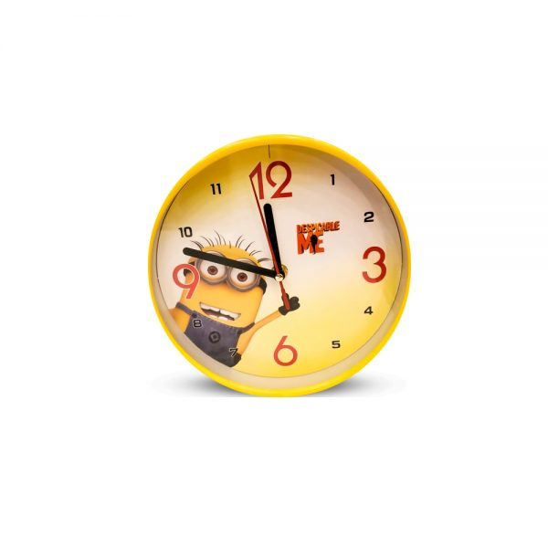 Table Clock MINIONS Design ( Medium )