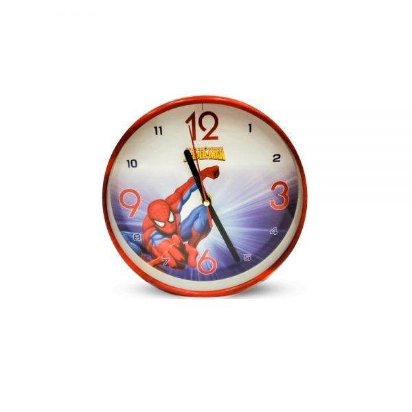 Table Clock Spider Man Design ( Small )