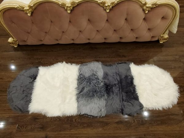 Super Soft Indoor Modern Silky Smooth Fur & Fluffy Rugs 15