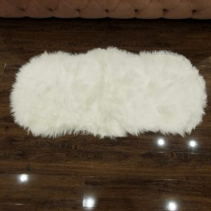 Super Soft Indoor Modern Silky Smooth Fur & Fluffy Rugs 11