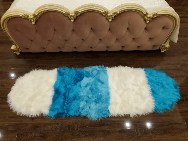 Super Soft Indoor Modern Silky Smooth Fur & Fluffy Rugs 09
