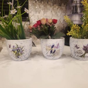 Ceramic Flower Pot ( 3 pieces)