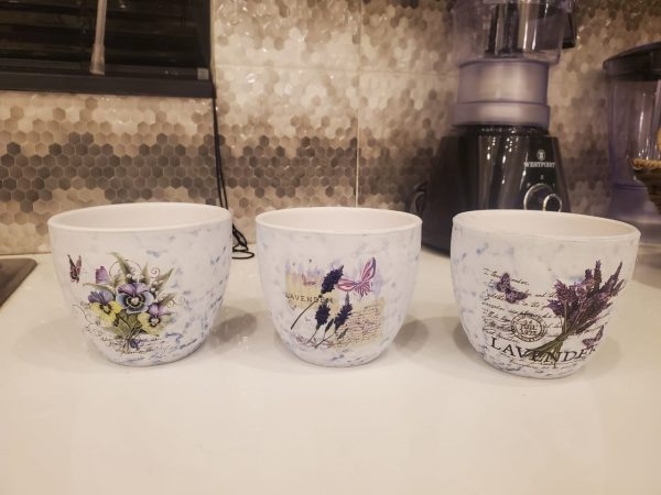 Ceramic Flower Pot ( 3 pieces)