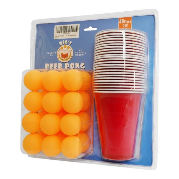 48 Pieces Beer Pong Game