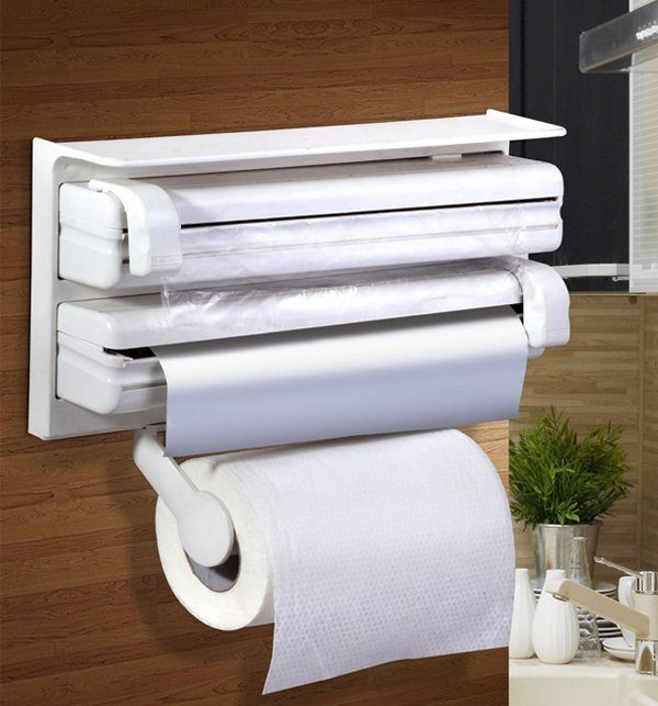 Kitchen Triple Paper Dispenser