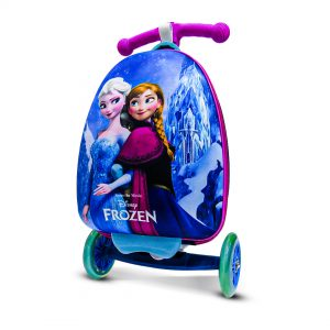 Original Disney Anna & Elsa Scooty School Bag 3D 01