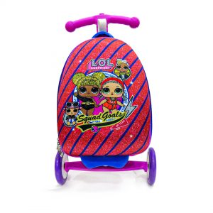 Original Disney Powerpuff Girls Scooty School Bag 3D 03
