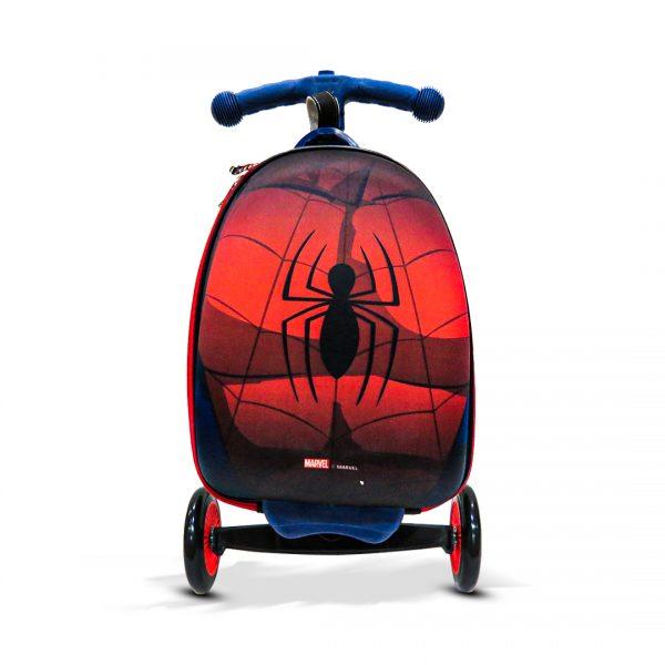 Original Disney Spider Man Scooty School Bag 3D 03
