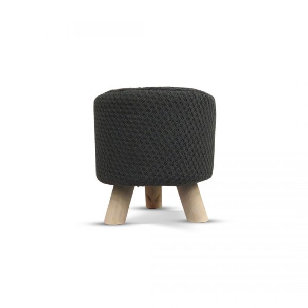 Wooden Stool for Kids With Removable Soft Fabric 119