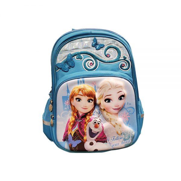 Original Disney Anna & Elsa School Bag 3D 6.0