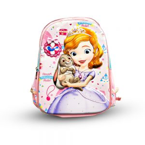 Original Disney Sofia School Bag 3D 7.0