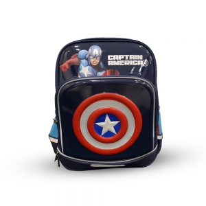 Original Disney Captian America Shield School Bag 3D 9.0