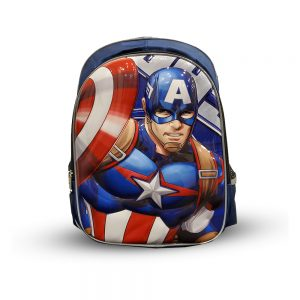 Original Disney Captian America School Bag 3D 10.0
