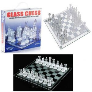 Glass Chess Game Board