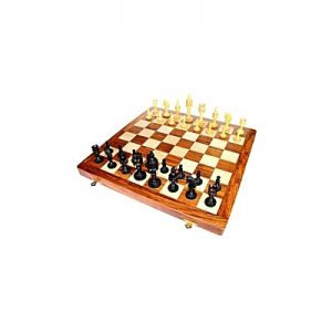 Chess Wooden Game Board Large