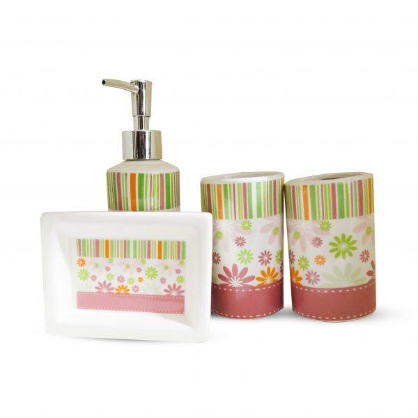 Ceramic Bathroom Set 4 Pcs High Quality 0.1