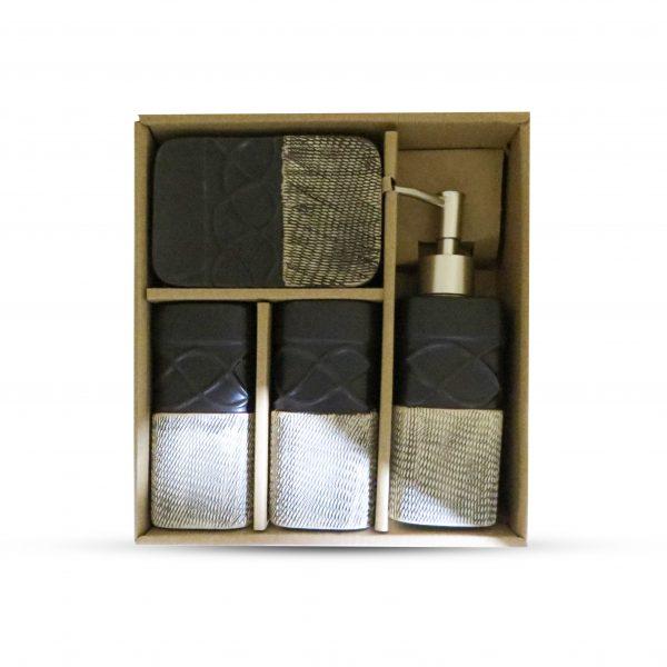 Ceramic Bathroom Set 4 Pcs High Quality 0.3