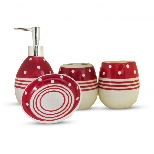 Ceramic Bathroom Set 4 Pcs High Quality 0.2