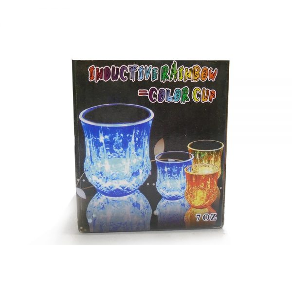 Inductive Rainbow Color Cup