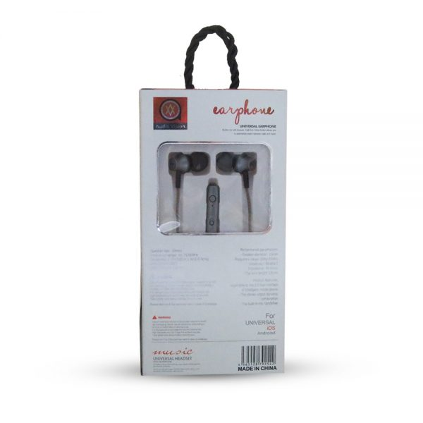 Audio Vision High Quality Handfree A8