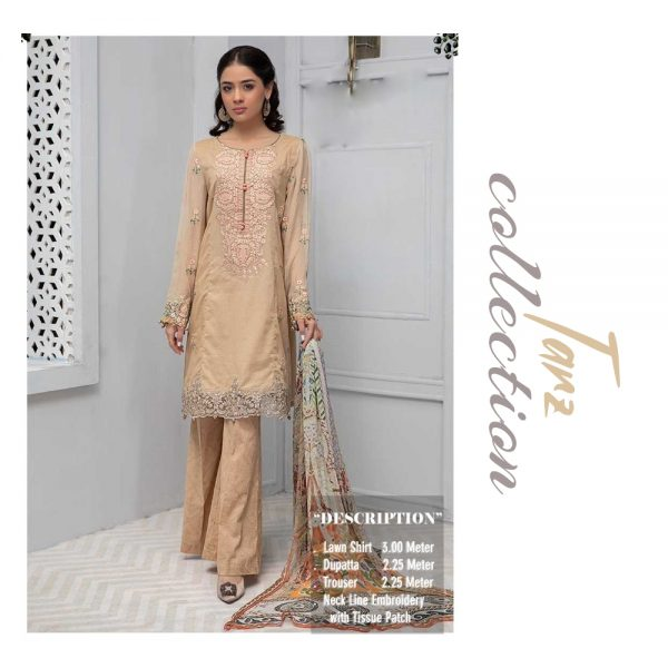 Women Summer Collection Unstitched 3-pc Multi Lawn Suit 23
