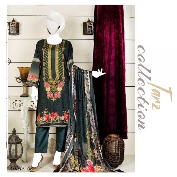 Women Summer Collection Unstitched 3-pc Multi Lawn Suit 25