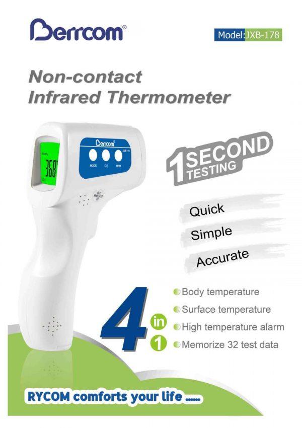 Berrcom Digital Non Contact Infrared Thermometer