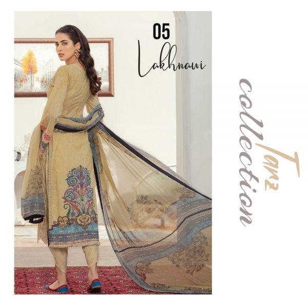 Women Luxury Lawn Unstitched 3-pc Suit Lakhani 06