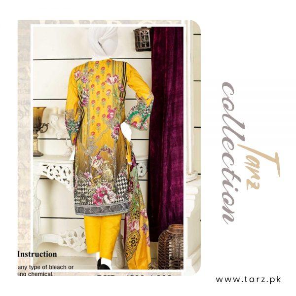 Women Summer Collection Unstitched 3-pc Multi Lawn Suit 85