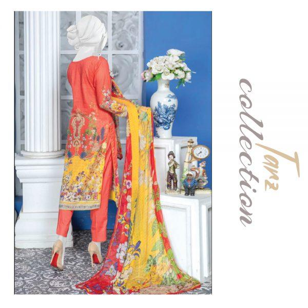 Women Summer Collection Unstitched 3-pc Multi Lawn Suit 27