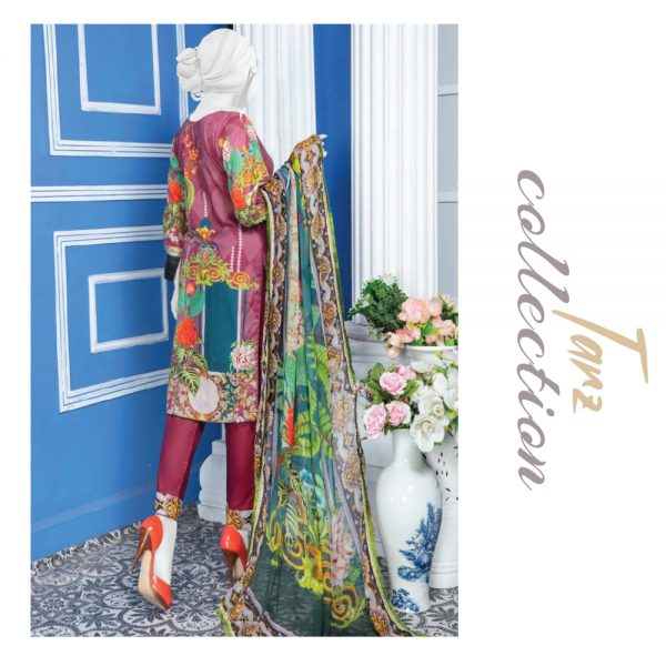 Women Summer Collection Unstitched 3-pc Multi Lawn Suit 29