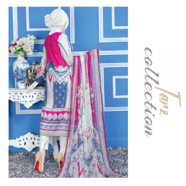 Women Summer Collection Unstitched 3-pc Multi Lawn Suit 30