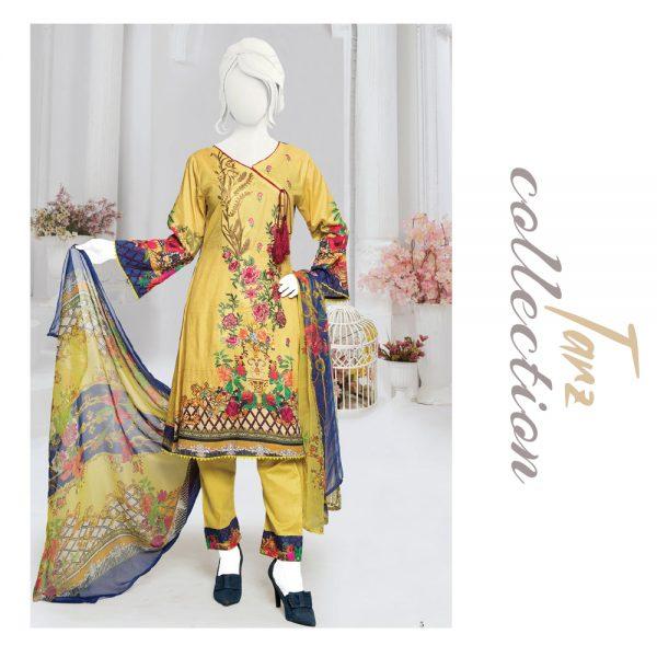 Women Summer Collection Unstitched 3-pc Multi Lawn Suit 31