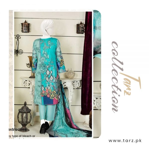 Women Summer Collection Unstitched 3-pc Multi Lawn Suit 82