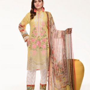 Branded Stitched Lawn 3 Piece Suit 0.2