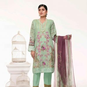 Branded Stitched Lawn 3 Piece Suit 0.6