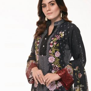 Branded Stitched Lawn 3 Piece Suit 0.5