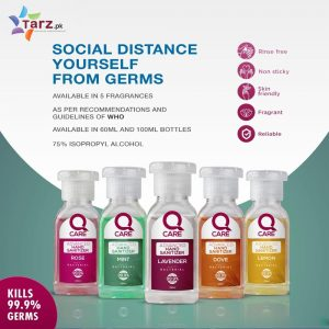 QCare Hand Sanitizer 5 pcs