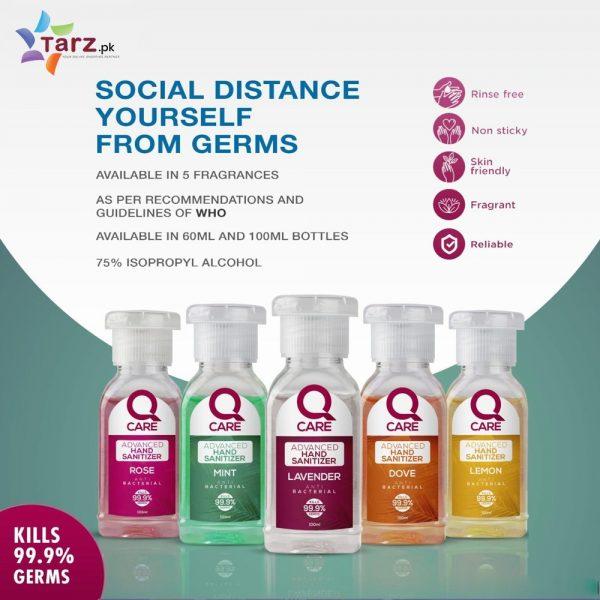 QCare Hand Sanitizer 5 pcs