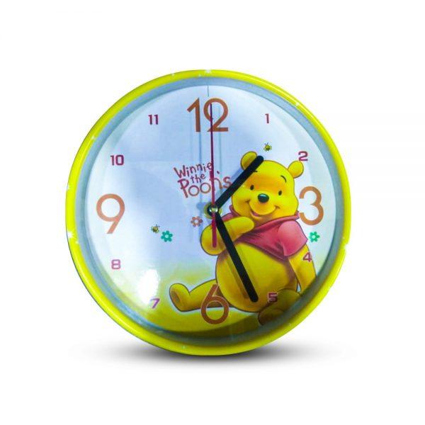 Table Clock Pooh Bear Design