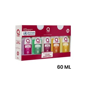QCare Hand Sanitizer 5 pcs 60ml