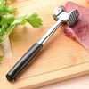 Meat Tenderizer Mallet Tool Sturdy Stainless Steel Steak Pounder Hammer for Beef Veal & Chicken