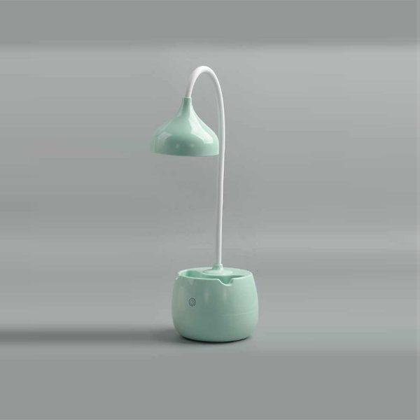 Pen Holder LED Table Lamp Blue