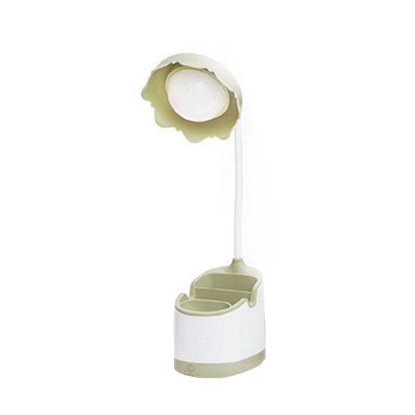 Pen Holder LED Table Lamp Light Green