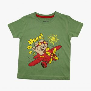 Kids T Shirt Flying Bear 07
