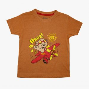 Kids T Shirt Flying Bear 09