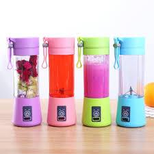 Electric Blender Mini Portable Personal Size Juicer Cup USB Rechargeable Mixer, Water Bottle Portable Fruit Juicer Machine