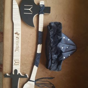 Ertugrul Sword,Cap & Turgut Axe Set of 3