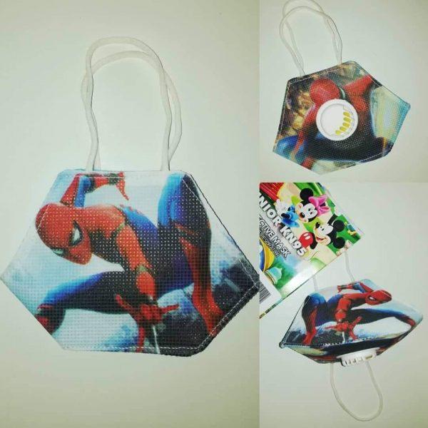 Kids Filter Mask SpiderMan